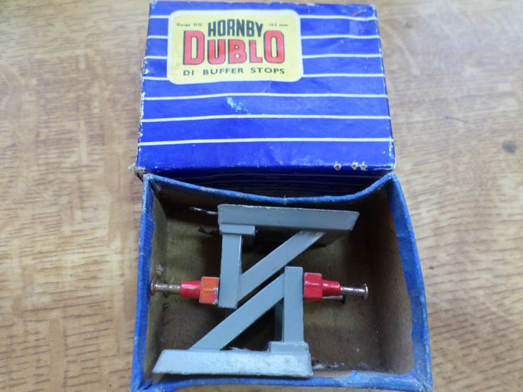 Hornby Dublo D1 Sprung Buffer Stops by RoseCollectable on Etsy