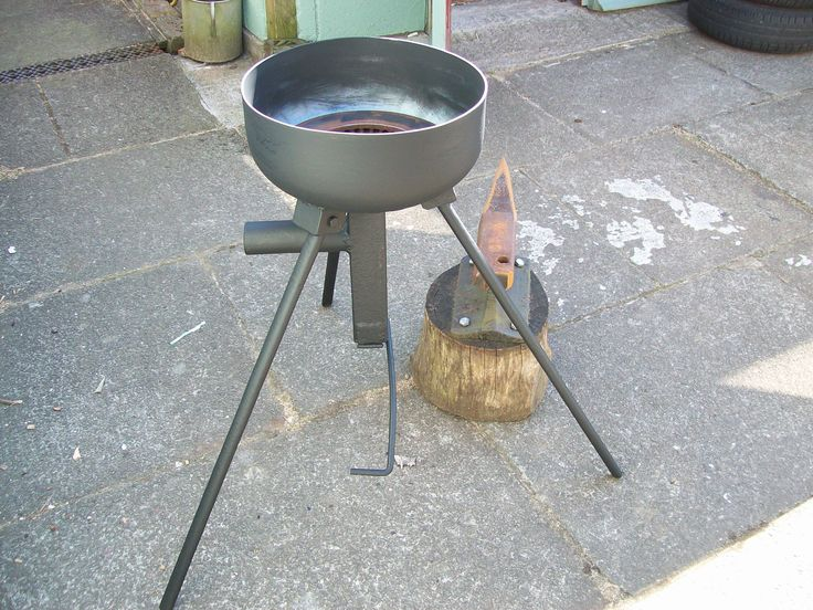how to build a small forge