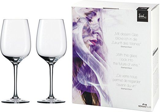 Eisch Superior Chardonnay Sensis Plus Lead-Free Crystal Wine Glass, Set of 2, 14-Ounce Price: $59.99