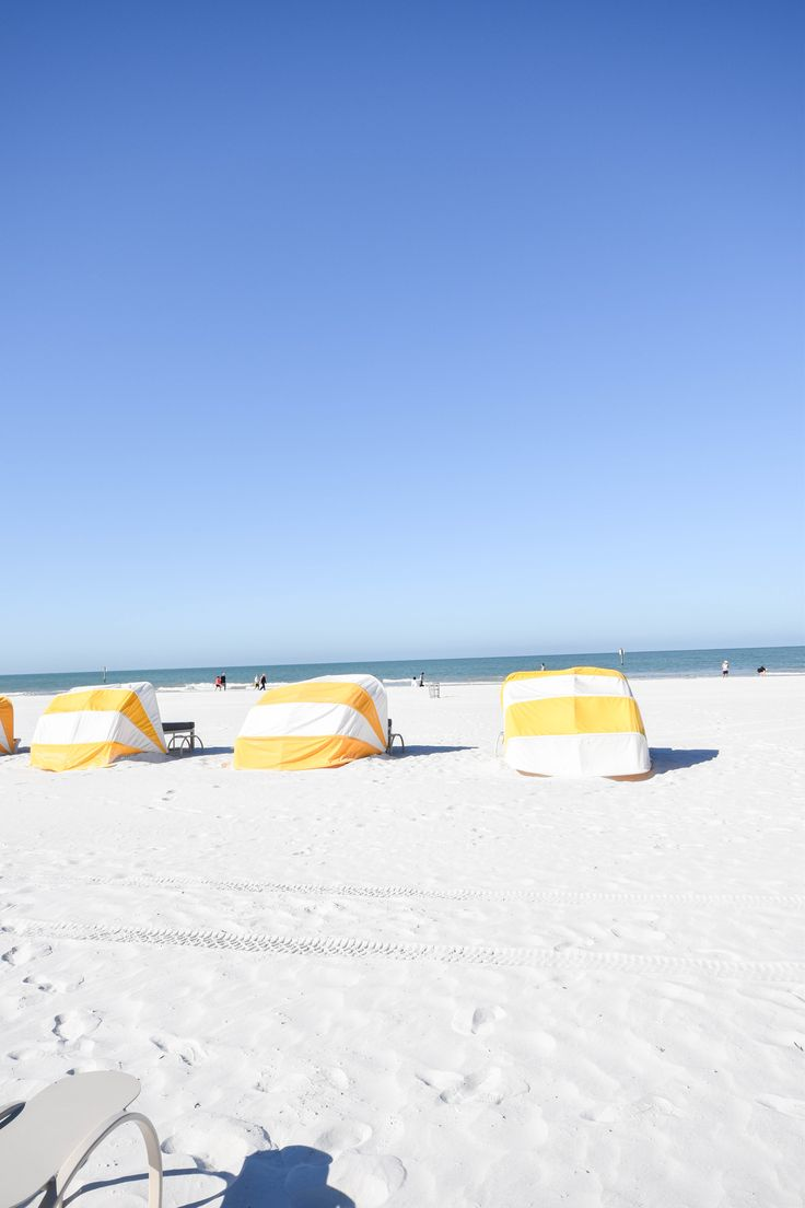Beach day in Clearwater, Florida