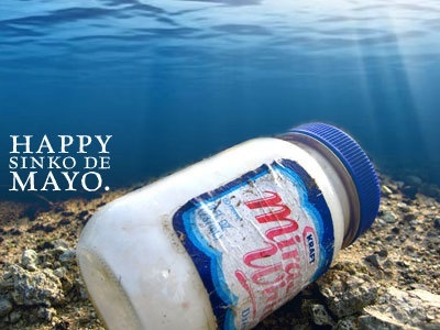 "Happy Sinko de Mayo!!  (yeah, I know, it's ""cinco"")"