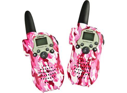 PMR camouflage walkie-talkies - pink