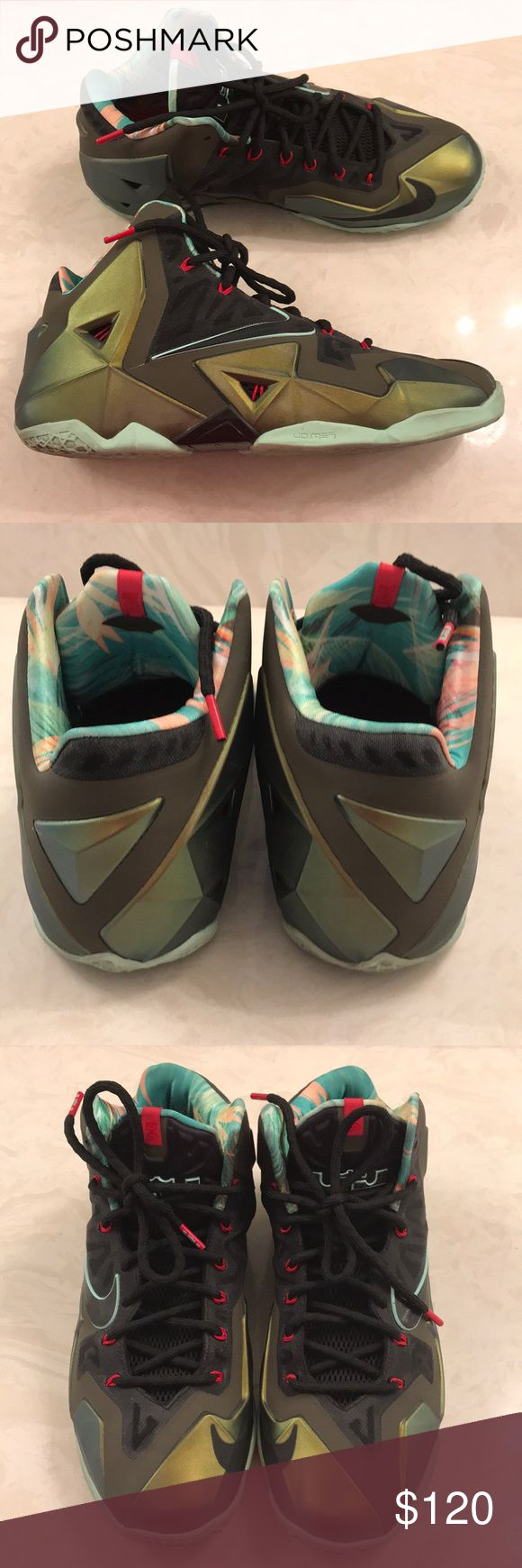Nike Lebron XI Kong's Pride Size 10.5 Men Excellent used condition. Size 10.5 men Nike Shoes Sneakers