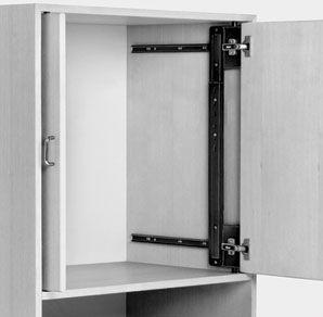 Les 25 meilleures id es concernant porte escamotable sur - Table a repasser escamotable dans placard ...