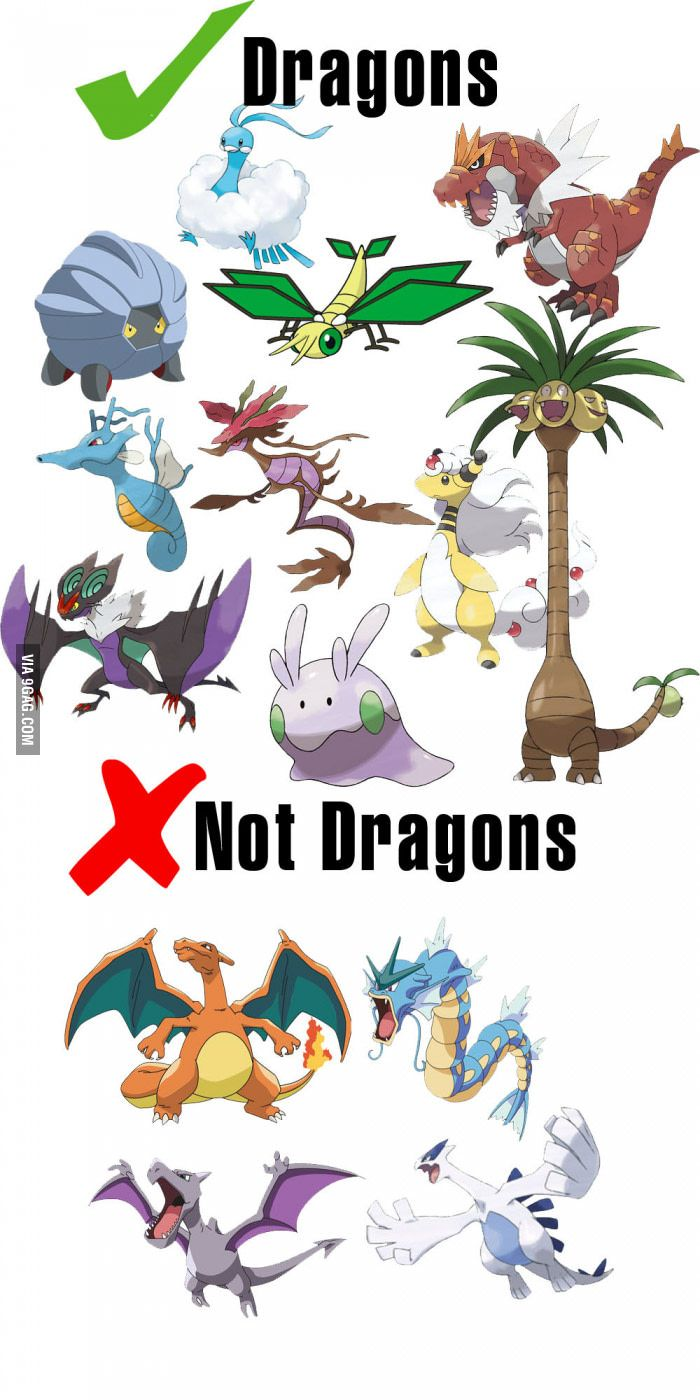 Pokemon Logic people<<< Lugia is a bird and Aerodactyl is a pterosaur though, but other than that, seriously...