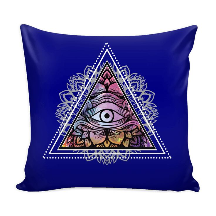 All Seeing Eye Pyramid Eye Pillow