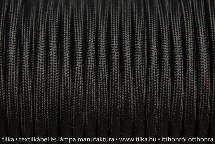 Rendelj tilka fekete burkolt színes textik kábelt méterre vagy kérd design lámpaként, hosszabbítóként. tilka.hu