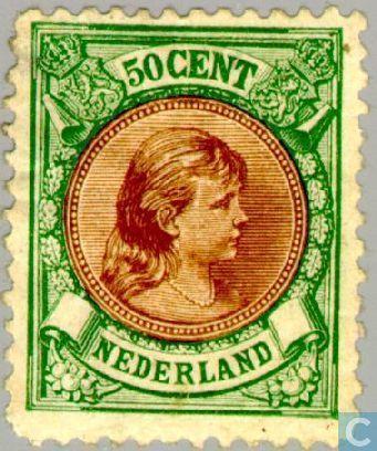 Netherlands [NLD] - Princess Wilhelmina-' Hanging her ' 1896