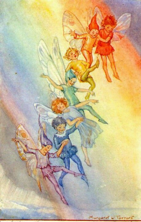 The Weather Fairies by Margaret Tarrant. ❣Julianne McPeters❣ no pin limits