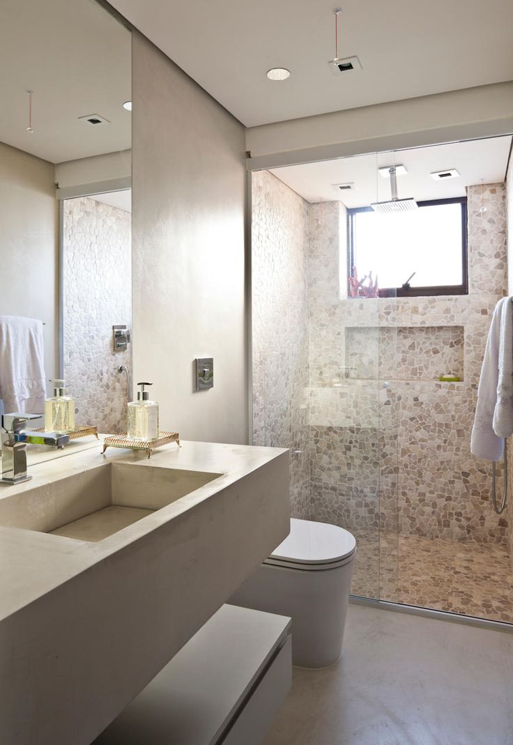 lindo banheiro em tons neutros 881 1280 arquitetura e. Black Bedroom Furniture Sets. Home Design Ideas