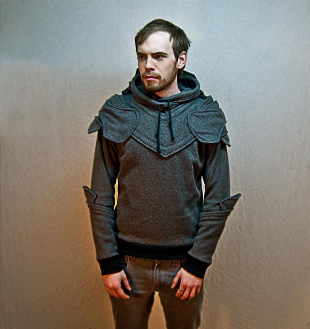 Suit of Armor Hoodie: Fashion, Grey Knights, Armors Knights, Style, Armour Hoodie, Knights Hoodie, Knights Armors, Suits, Armors Hoodie
