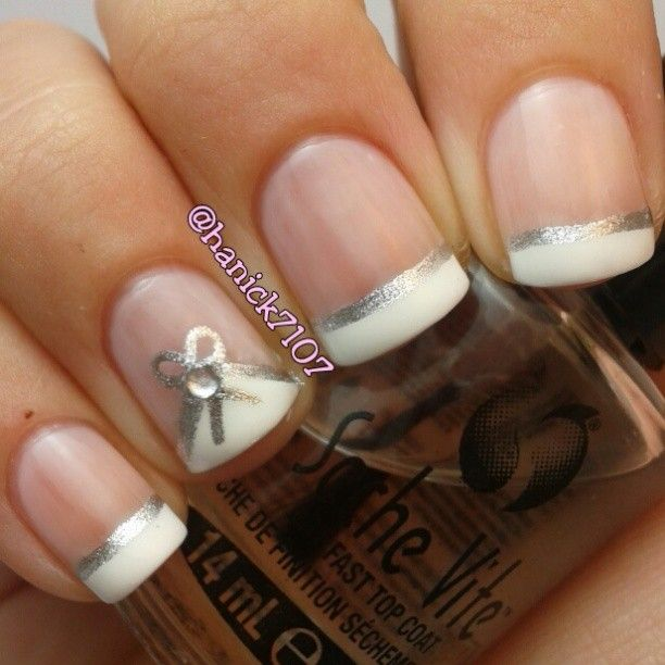 262 best nails french tip designs images on pinterest nail nails tips designs prinsesfo Gallery