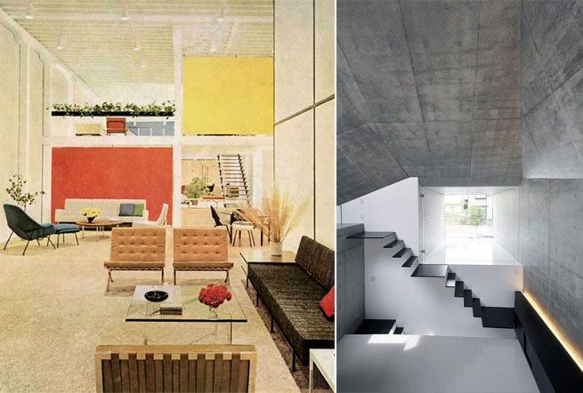 Left - Interior by Florence Knoll