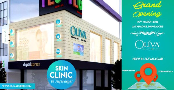 Holistic Skin Treatment consultation in Oliva's Skin Clinic in Jayanagar, Bangalore Looking good makes one feel confident and this radiates to different spheres of their lives. A beautiful healthy skin makes one feel beautiful. Skin health and appearance plays a significant role in creating a...