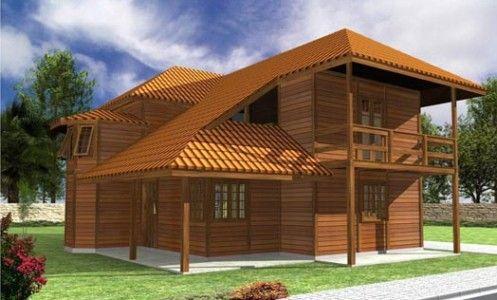 Casas+De+Madeira casas pré fabricadas em madeira sp