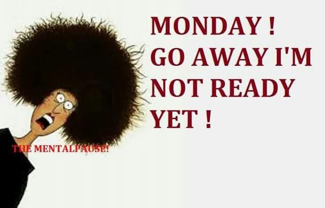 Blue Monday: Monday Morning Blues