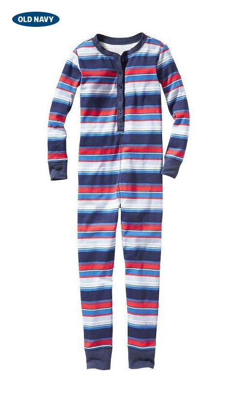 Snuggle up to this sweet gift idea: patterned onesie pajamas. Keep your little one stylish even as they snooze.