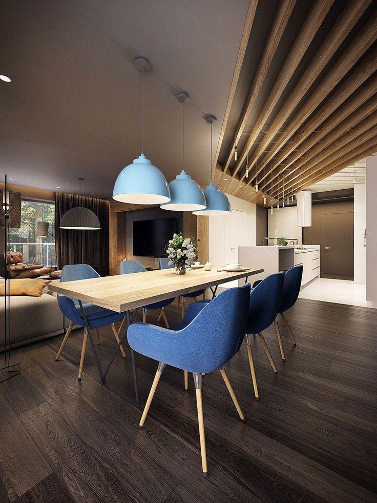 17 migliori idee su sala da pranzo moderna su pinterest for Idee piano appartamento