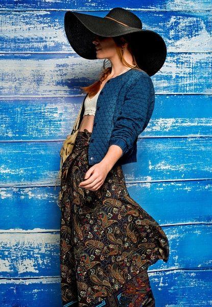 Spódnica VERY LONG WRAP - PapayaLove - Moda etno