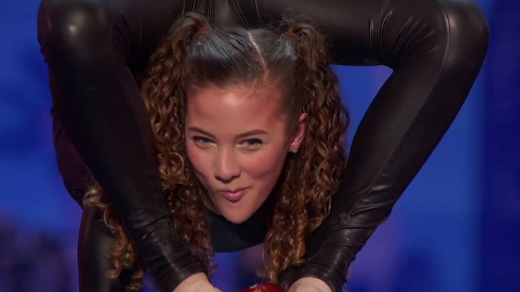Watch: 14-year-old Sofie Dossi sets 'America's Got Talent' ablaze