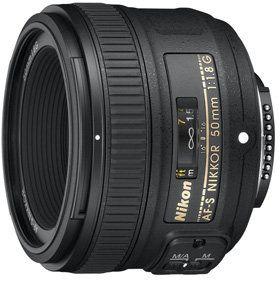 Nikon AF-S NIKKOR 50 mm 1:1,8G Objektiv, für tolle Aufnahmen bei wenig Licht