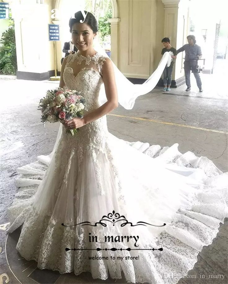 Full Vintage Lace Mermaid Wedding Dresses 2017 Trumpet Style Sequined Beaded Plus Size Sexy Back Arabic Cheap Vestido De Novia Bridal Gowns 2017 Wedding Dresses Plus Size Wedding Dresses Arabic Wedding Dresses Online with $249.15/Piece on In_marry's Store | DHgate.com