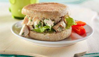 Sandwich César à la dinde