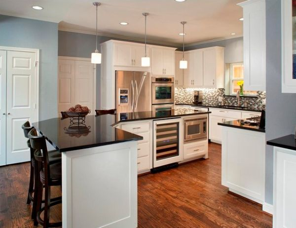 Good White Kitchen Cabinetry Does Not Mean Bland Amazing Ideas