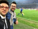 Piero on the soccer field