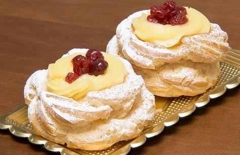 Per la festa di San Giuseppenon possono mancare le Zeppole. La ricetta originale prevede la frittura in olio caldo, ma io preferisco la cottura più saluta