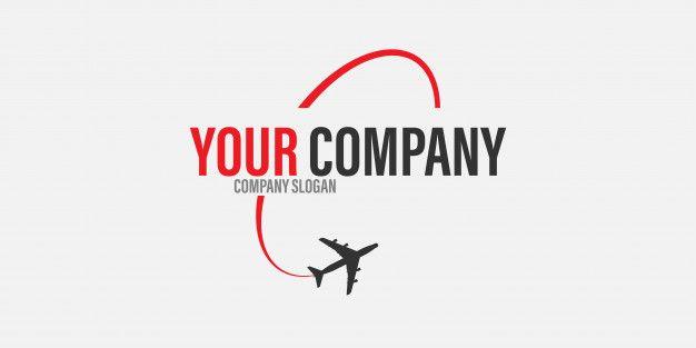 Conceito De Viagens De Aviao Logotipo Viagens Logotipo Viagem Aviao