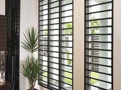rejas para ventanas modernas
