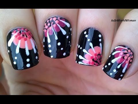 25 trending toothpick nail art ideas on pinterest diy nails for beginners in todays nail art video i make an easy flower nail design using toothpick first of all apply base coat to prot prinsesfo Gallery