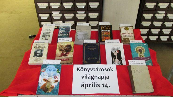 Könyvtárosok világnapja - Balassi Bálint Megyei Könyvtár