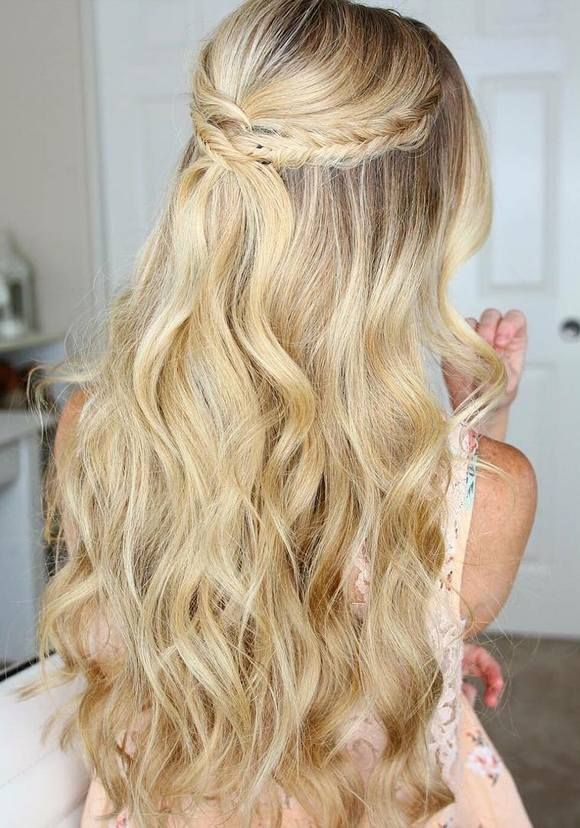 Long Hair Prom Down Dos : Best long prom hair ideas on