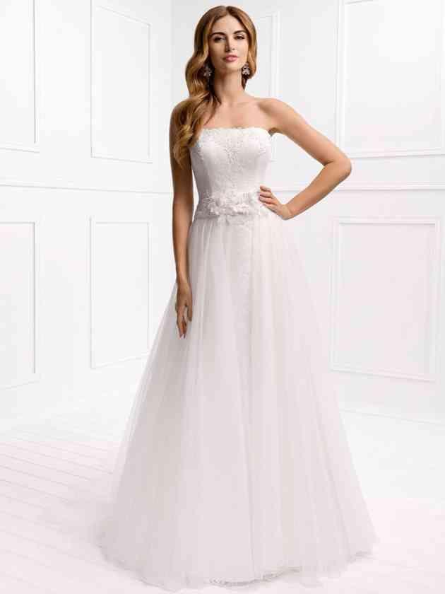 34 besten Hochzeitskleider Bilder auf Pinterest | Brautjungfern ...