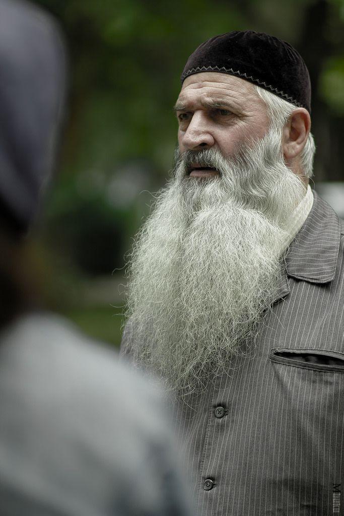 Sakallı Çeçen adam - Resimler   IslamicArtDB.com