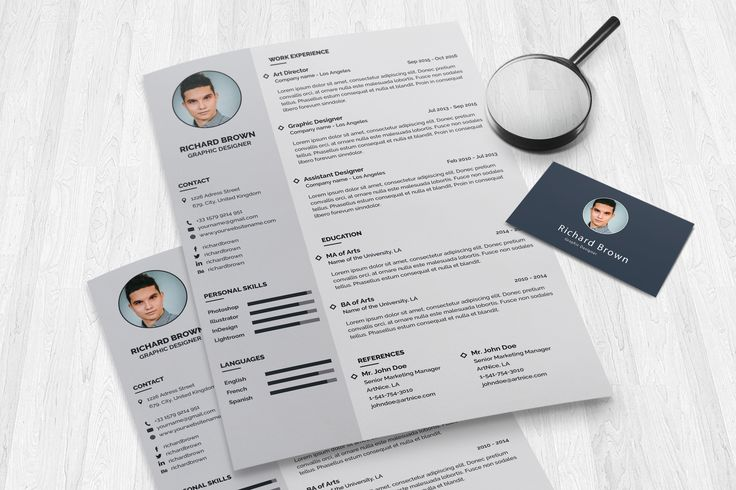 Rhombus Resume it's modern, elegant and allows you to stand out from the crowd and make you more visible for your employer. Available in A4 and US version, Rhombus Resume it's fully customizable and the layers are grouped, so you'll be able to change the text and other elements very easy. You can buy it from here: https://graphicriver.net/item/rhombus-resume/19955646