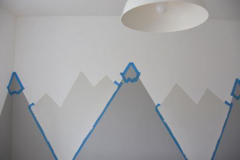 Best 25 toddler room organization ideas on pinterest for Diy mountain mural