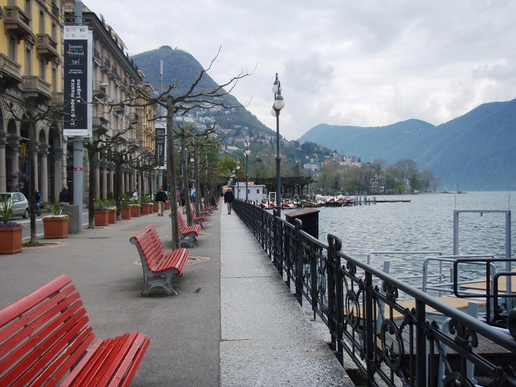 SWITZERLAND - LUGANO lake