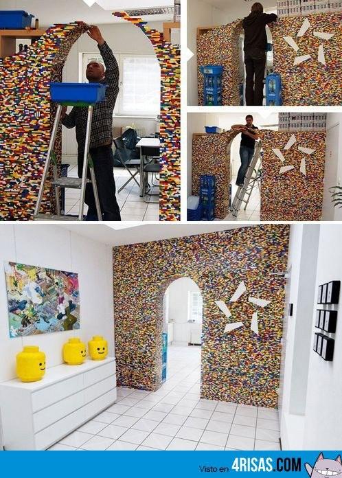 Muro de LEGO