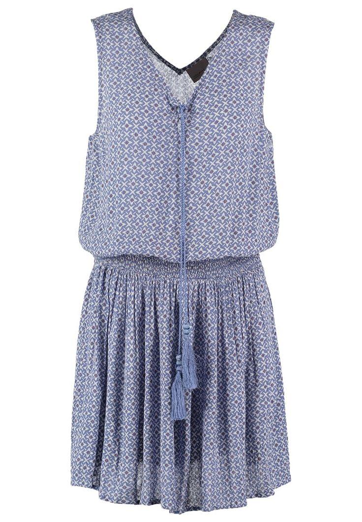 Robes Vero Moda VMCARO NELLA - Robe d'été - colony blue bleu: 32,00 € chez Zalando (au 23/06/16). Livraison et retours gratuits et service client gratuit au 0800 740 357.