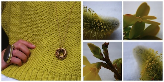hybrid handmade: And it was all yellow...