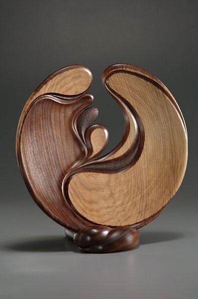 Wood, Betty Scarpino, Artist, 2011,  H: 17 in  W: 17 in