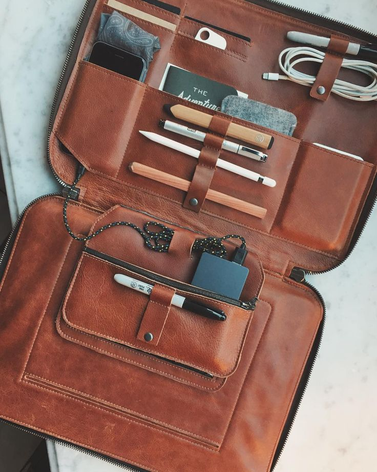 "The mobile office at @thecavaliersf / Mod Laptop cognac 15"" also available in 11 12 and 13 inch - still 20% off with code tig20 until midnight. @tigmodlaptop #tigmodlaptop #tigmod #laptopcase"
