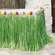 Table Skirt Artificial Grass - Flowered $46.95 BE50492-G