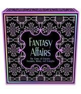 Fantasy Affairs en un juego de mesa erotico especialmente indicado para parejas. Dispone de tablero, divertidas y sugerentes tarjetas con pruebas y acciones para realizar. Para pasar un rato divertido y a la vez estimulante con tu pareja!!!