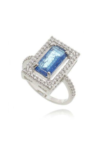 4abfc6b3e05fe anel-retangular-rodio-com-pedra-azul-safira-inclusao-semi-joias    Acessórios Femininos e Bijuterias Finas   Jewelry