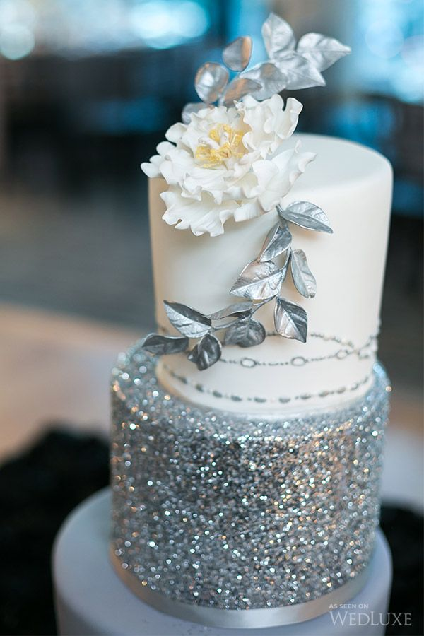 Silver Cake Decorating Glitter Spray : 25+ Best Ideas about Sparkly Wedding Cakes on Pinterest ...