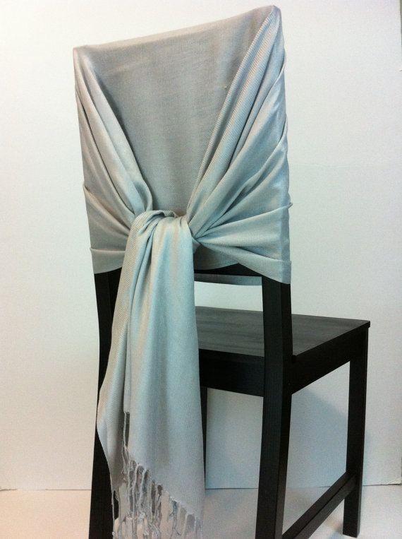 Light Gray pashmina  pashmina scarf pashmina by WeddingShawls, $11.00